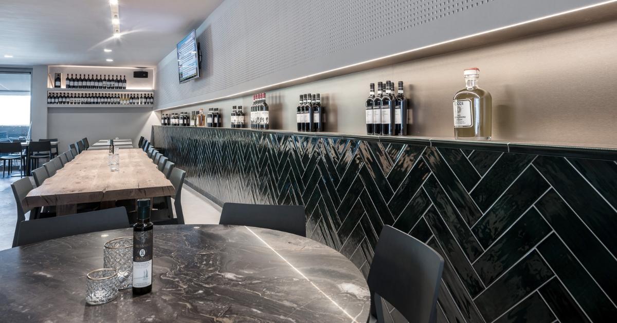 interieurdesign Casa Paglia met verwerking van natuursteen